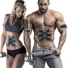 Abs Stimulator Muscle Waist Trimmer Belt Ab Stimulator Fit Training Portable Fitness Home Training Gear AB Trainer Wireless Muscle Exercise