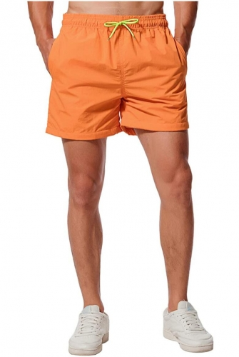 Men's Swimming Shorts Beach Shorts Quick Drying Shorts Sports Shorts with Mesh Lining and Adjustable Drawstring